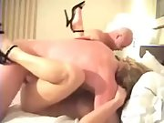 Sharing wife with frienda in super-steamy 4some