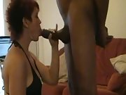 British tart milf with two very hard penises performing on webcam